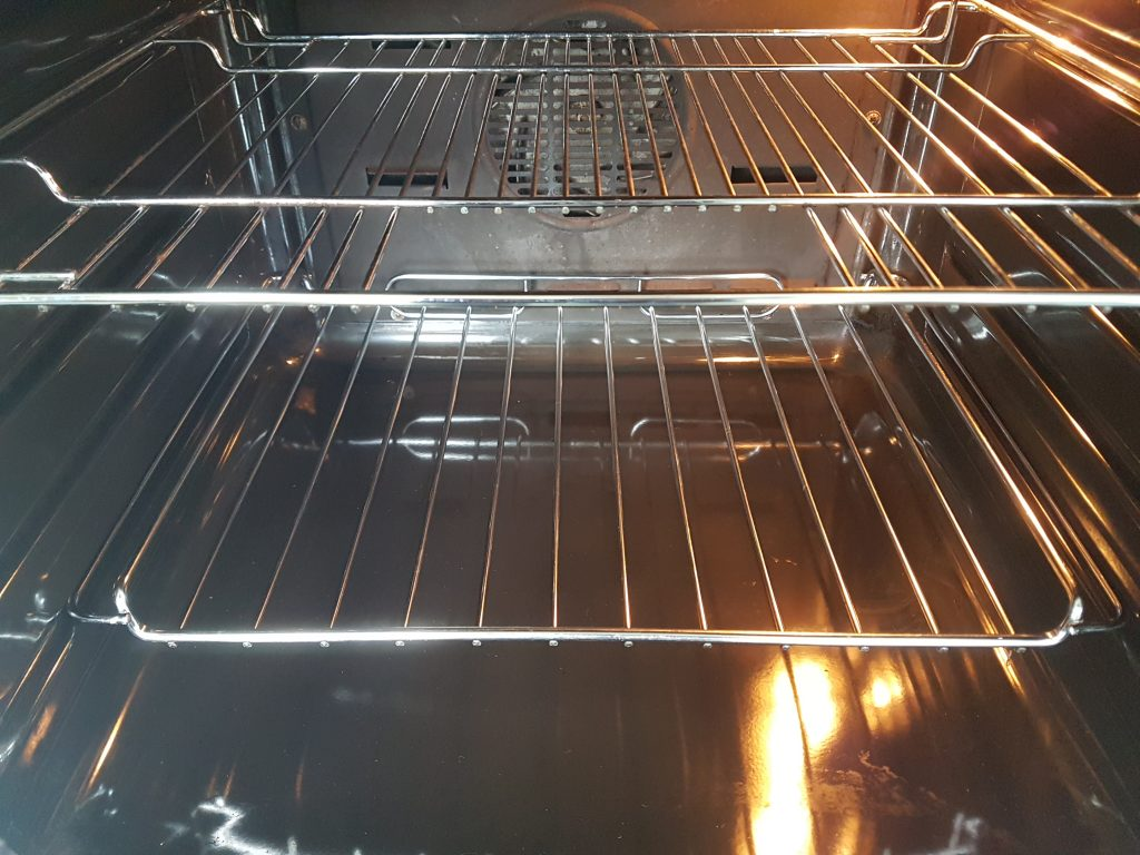 Professional oven cleaning