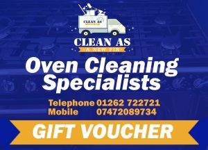Oven cleaning gift voucher
